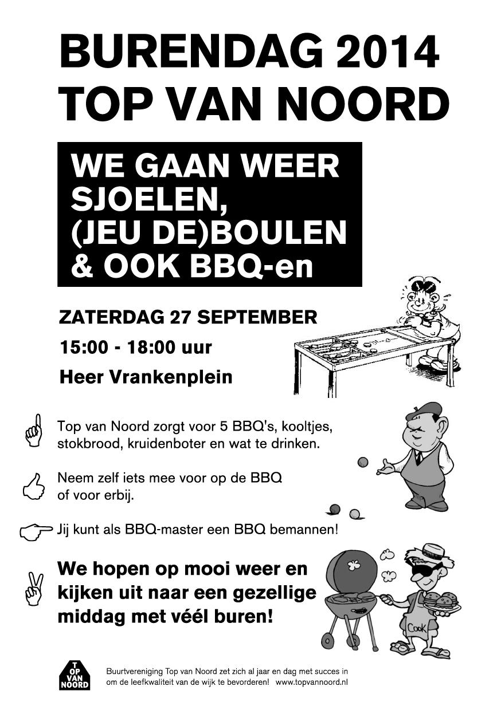 Burendag 2014: Sjoelen, (Jeu de) Boulen, en BBQ-en!