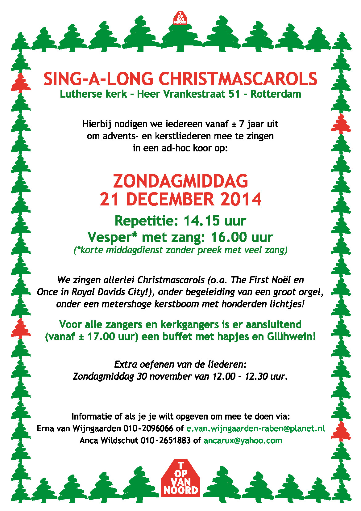 Sing-A-Long Christmas Carols
