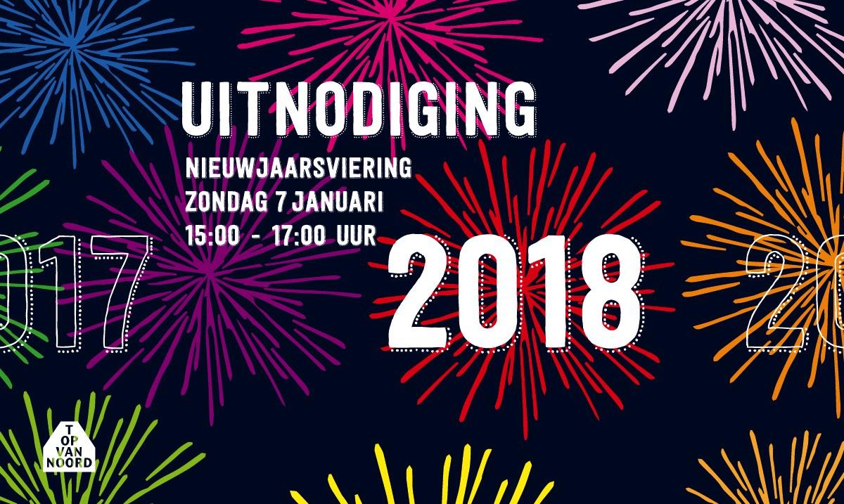 Uitnodiging Nieuwjaarsviering 2018